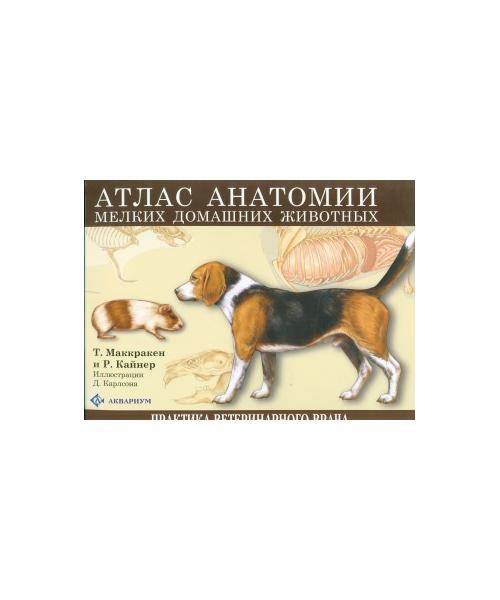 Атлас анатомии мелких домашних животных