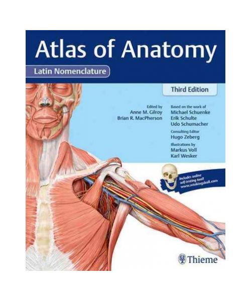 Atlas of Anatomy,  Latin 3rd New edition