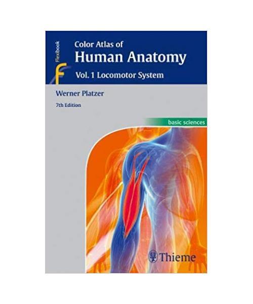 Color Atlas of Human Anatomy: Vol 1. Locomotor System 7th edition Edition
