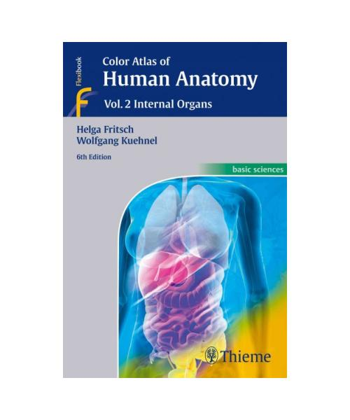 Color Atlas of Human Anatomy: Vol. 2: Internal Organs 6th edition