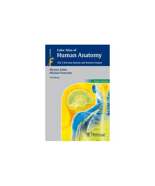 Color Atlas of Human Anatomy, Vol. 3  Nervous System and Sensory Organs. 7th ed.