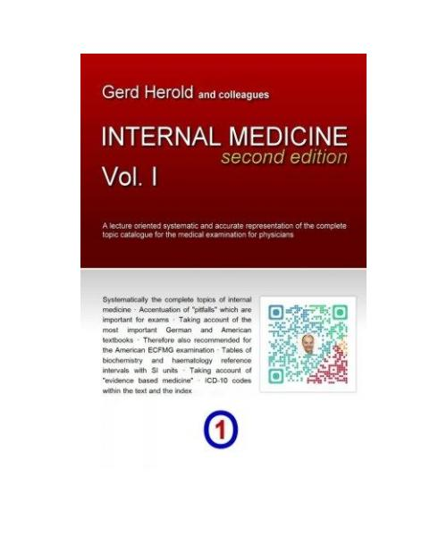 HEROLD's Internal Medicine (Second Edition) - Vol. 1