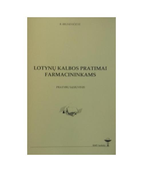 Lotynų kalbos pratimai farmacininkams