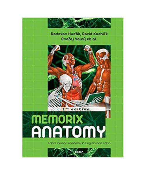 Memorix Anatomy Entire human anatomy in English and Latin 2nd edition Hardcover – 2017