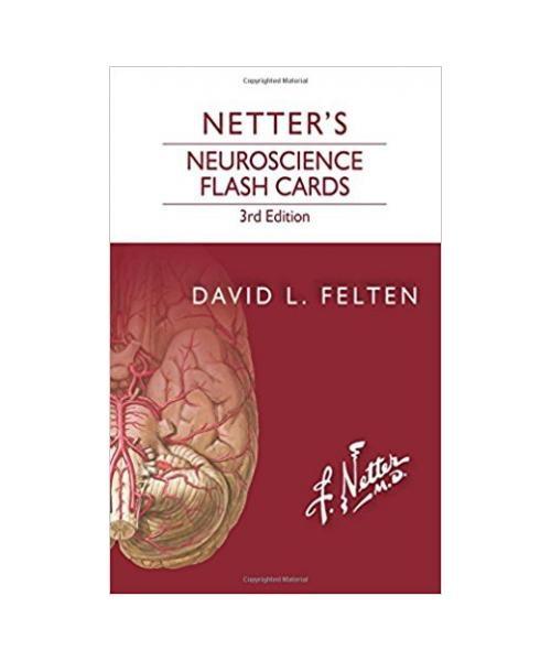 Netter's Neuroscience Flash Cards 3rd Edition