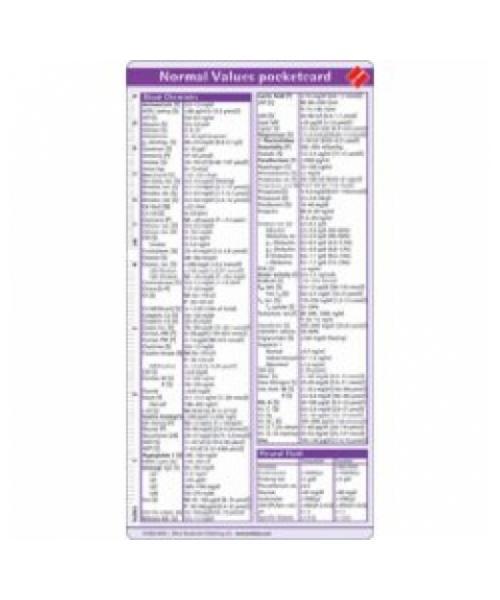Normal Values Pocketcard, 2nd ed