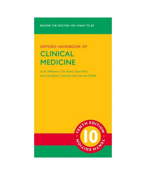 New Edition Oxford Handbook of Clinical Medicine  Tenth Edition