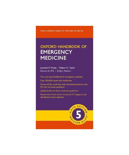 Oxford Handbook of Emergency Medicine 5th Revised edition