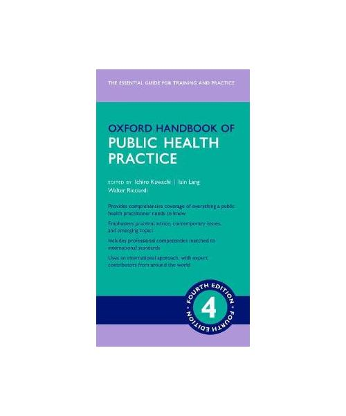 Oxford Handbook of Public Health Practice 4e 4th Revised edition