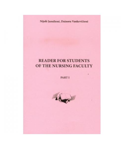 Reader for students of the nursing faculty. Part 1