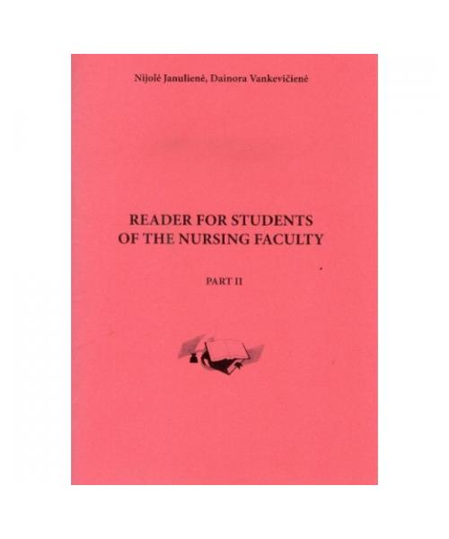 Reader for students of the nursing faculty. Part 2