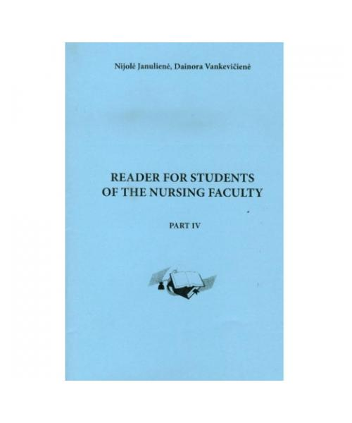 Reader for students of the nursing faculty. Part 4