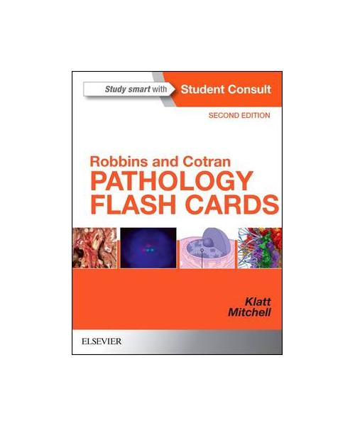 Robbins and Cotran Pathology Flash Cards 2nd Revised edition