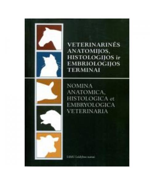 Veterinarinės anatomijos, histologijos ir embriologijos terminai