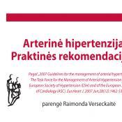 Arterinė hipertenzija. Praktinės rekomendacijos*