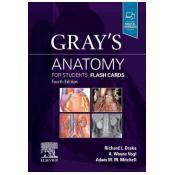 Gray's Anatomy for Students Flash Cards 4th Revised edition [Cards]