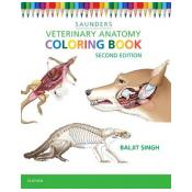 Veterinary Anatomy Coloring Book 2nd Revised edition