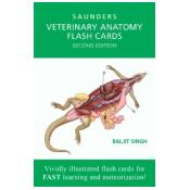 Veterinary Anatomy Flash Cards, 2nd Edition